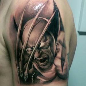 Wolverine Hand Tattoo