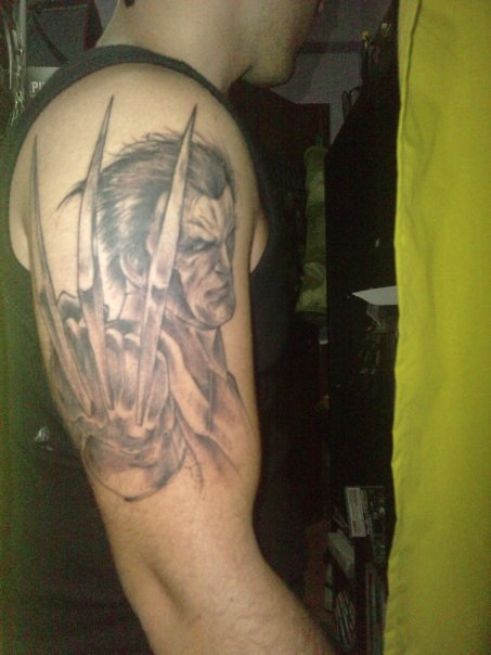 Black Women White Men Love >> Wolverine Tattoos Designs, Ideas and Meaning   Tattoos For You