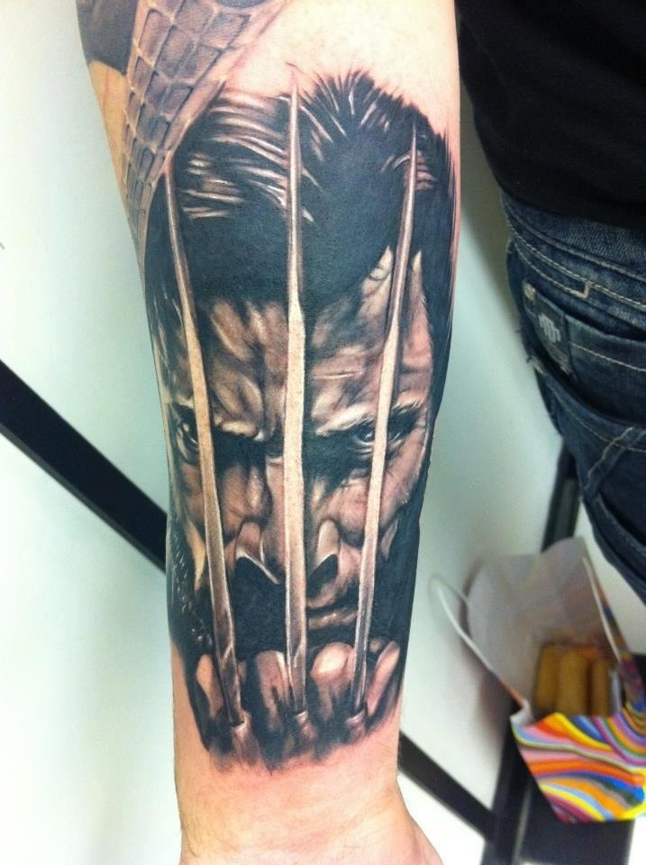 wolverine tattoos designs ideas and meaning tattoos for you. Black Bedroom Furniture Sets. Home Design Ideas