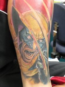 X Men Wolverine Tattoo