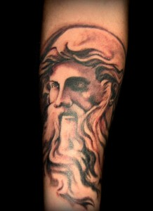 Zeus Tattoo Designs