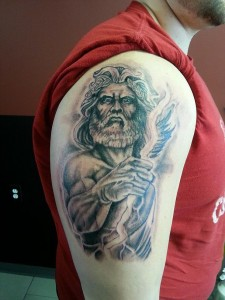 Zeus Tattoo Pictures