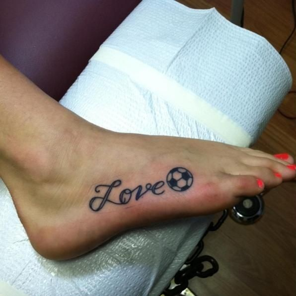 Football Tattoos Designs Ideas And Meaning Tattoos For You