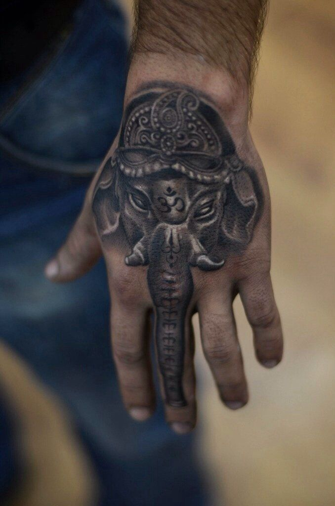 Tattoo Hand: Ganesh Tattoos Designs, Ideas And Meaning