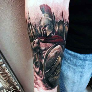 300 Spartan Tattoo