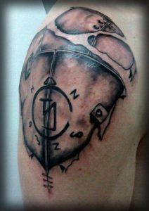 3d Armor Tattoo