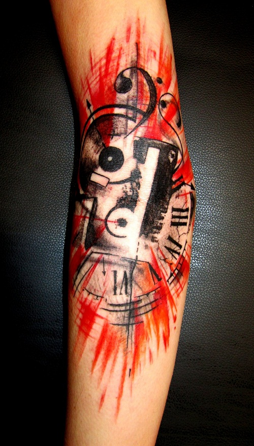 abstract tattoos designs  ideas and meaning