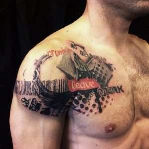 Abstract Tattoos for Men