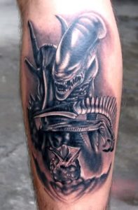 Aliens Tattoo