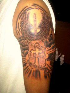 Armor of God Tattoo