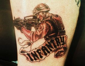 Army Infantry Tattoos
