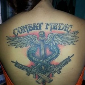 Army Medic Tattoos
