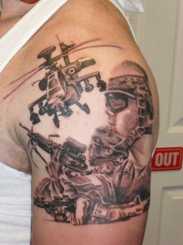 Army tattoos designs ideas and meaning tattoos for you for Army tattoos and meanings