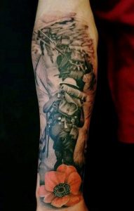 Army Tattoos Forearm