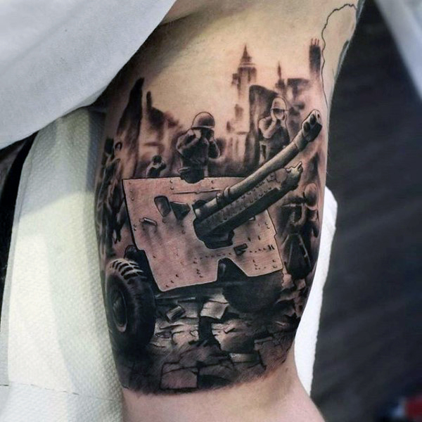 Gun Tattoos Meanings Designs And Ideas: Army Tattoos Designs, Ideas And Meaning