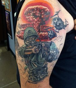 0590a09c2 Army Tattoos Designs, Ideas and Meaning | Tattoos For You