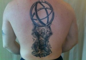 Atlas God Tattoo