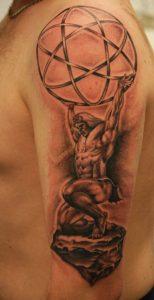 Atlas Tattoo Pictures