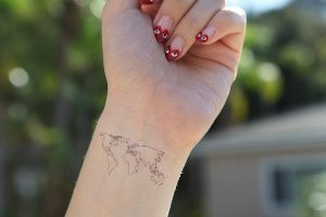 Atlas Tattoo Wrist