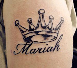 Baby Girl Name Tattoos