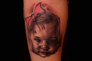 Baby Girl Tattoo