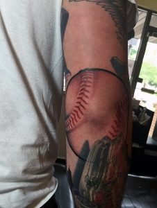 Baseball Sleeve Tattoos