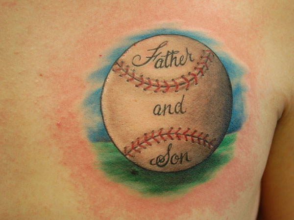 baseball tattoos designs ideas and meaning tattoos for you. Black Bedroom Furniture Sets. Home Design Ideas