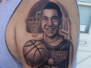 Basketball Arm Tattoos