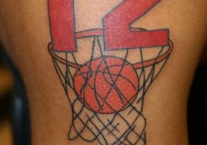 Basketball Net Tattoo