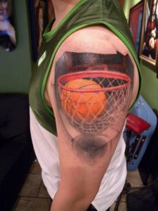 Basketball Sleeve Tattoos