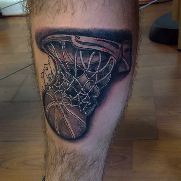 Basketball Tattoos Designs, Ideas And Meaning