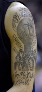 Basketball Tattoo Sleeve