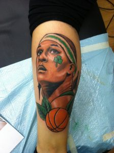 Basketball Tattoos for Girls
