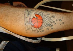 Basketball Tattoos for Men