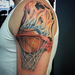 Basketball Themed Tattoos