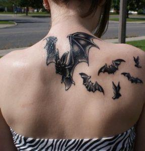 Bat Tattoo Images