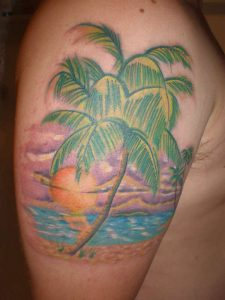 Beach Tattoo Designs