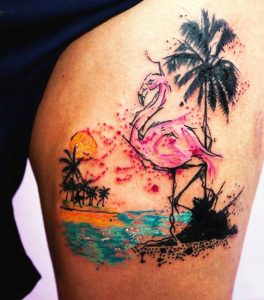 Beach Tattoos for Guys