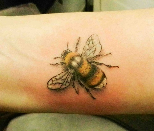 Bee Tattoos Designs, Ideas and Meaning | Tattoos For You