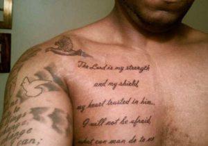 Biblical Chest Tattoos