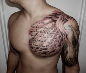 Biblical Tattoos for Men