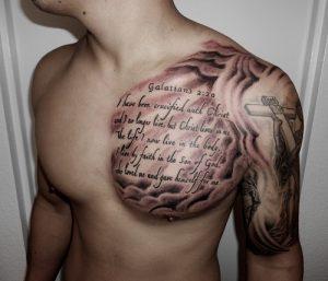Biblical Tattoos for Men