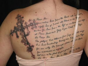 Biblical Tattoos for Women