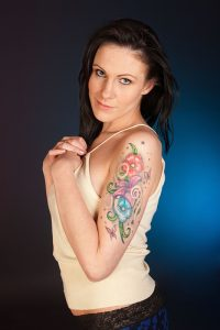 Bicep Tattoo Women