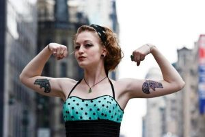 Bicep Tattoos Female