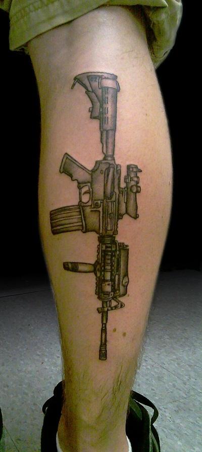 Small Tattoo Guns: Gun Tattoos Designs, Ideas And Meaning