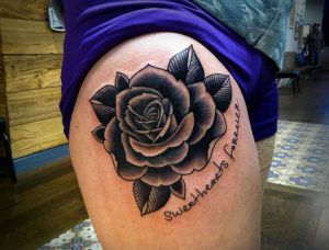 Black Rose Tattoos