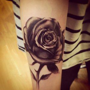Black Rose Tattoos Pictures