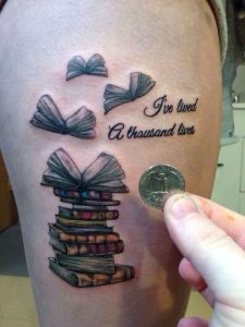 Book Tattoos Pictures