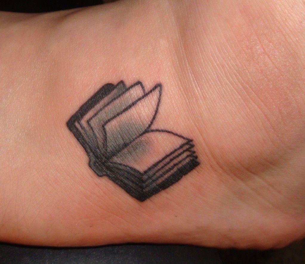 Small Book Tattoo